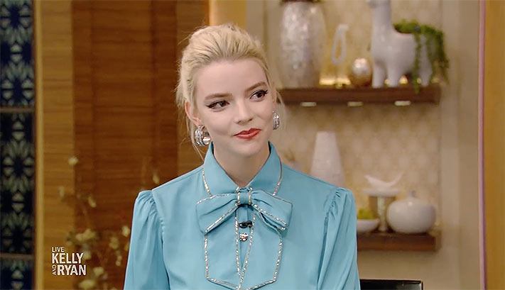 Anya Taylor Joy X Live With Kelly And Ryan Emma Movie Focus Features