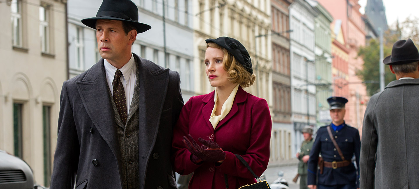 71e00a3d9927 Behind the Scenes: The Making of Jessica Chastain's Costumes in The  Zookeeper's Wife